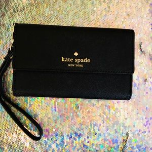 KATE SPADE TEXTURED I-Phone Wristlet